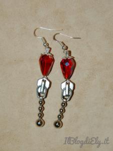 bijoux fatti a mano realizzati con cerniere