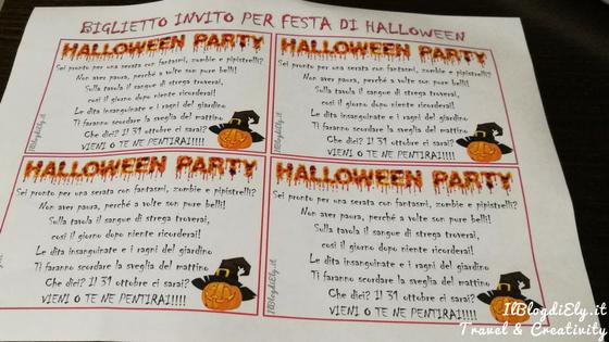 organizzare festa di halloween per bambini