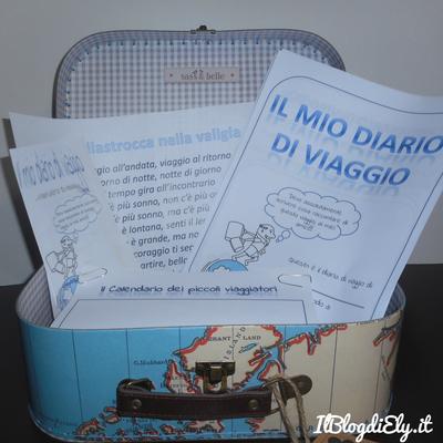 diario di viaggio per bambini