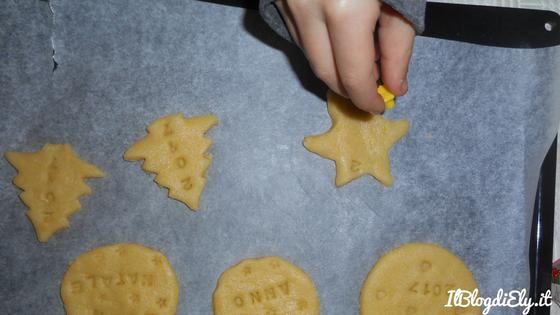 biscotti con auguri di natale per regalare