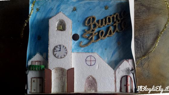 Casetta Di Natale Da Colorare : Immagini casette di natale da colorare: disegni di natale per