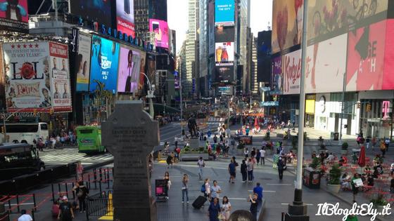 organizzare un viaggio viaggio a new york times square