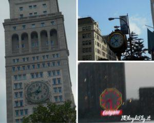 fotografie di una bambina a new york orologi