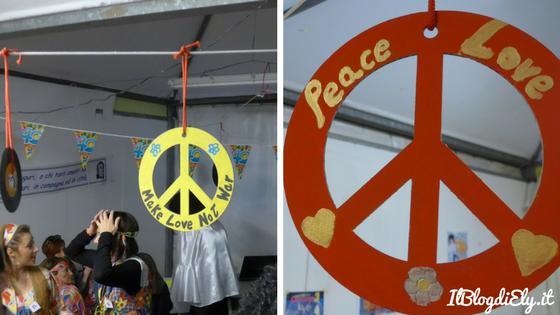 simbolo pace addobbi fai da te