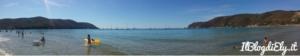 spiaggia di lacona isola d'elba con bambini