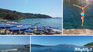 spiagge per famiglie con bambini all'isola d'elba