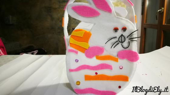 tutorial cestino del coniglietto pasquale fai da te