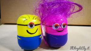 tutorial per creare minions con sorpresa uova