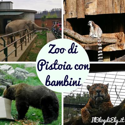 zoo di pistoia con bambini