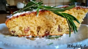 torta di pasqua rosmarino e uvetta