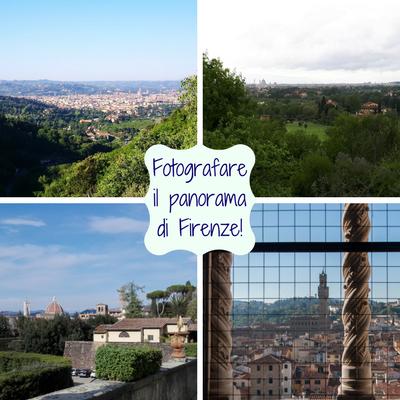 Fotografare il panorama di Firenze