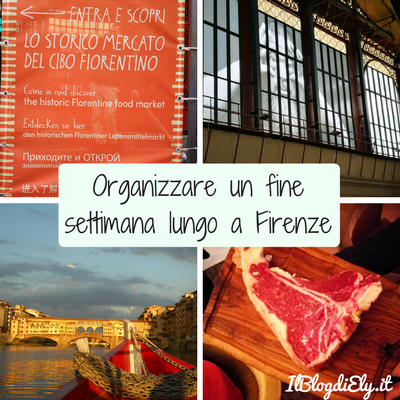 Organizzare un fine settimana a Firenze