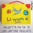 VALIGETTA FAI DA TE CON CARTONE RICICLATO PER BAMBINI