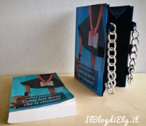 borsa libro realizzata con libro preferito