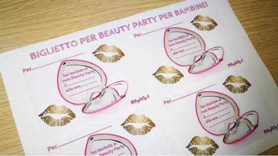 organizzare un compleanno originale per bambine beauty party