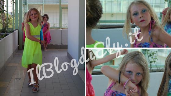 sfilata beauty party per bambine
