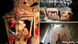 cimitero delle fontanelle teschio che suda