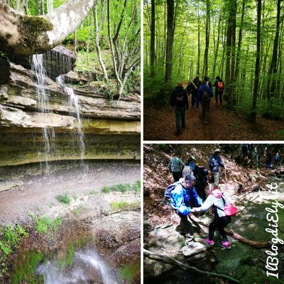trekking con bambini toscana