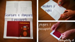 Scaricare e stampare il passaporto per peluche