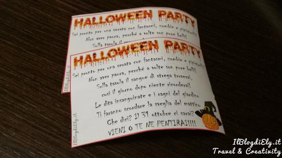 invito festa halloween da scaricare e stampare
