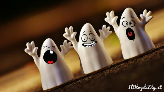 festa di halloween con bambini