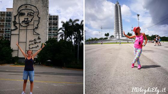 4 giorni a l'avana plaza de la revolucion che