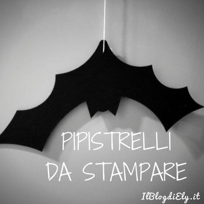 Pipistrelli di halloween da stampare e colorare e ritagliare for Immagini halloween da colorare e stampare