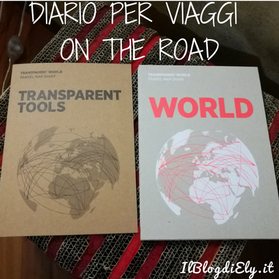 diario per viaggi on the road