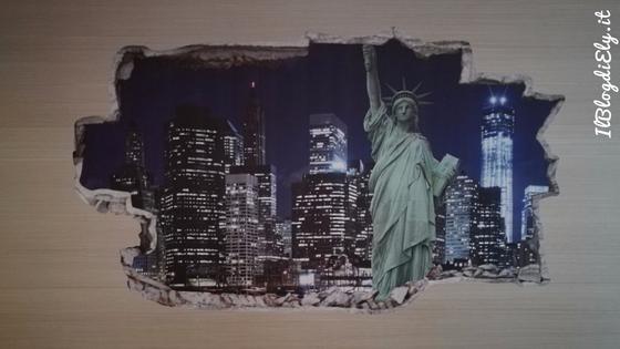 arredamento e viaggi adesivo murale new york