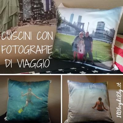 cuscini con fotografia per arredare casa