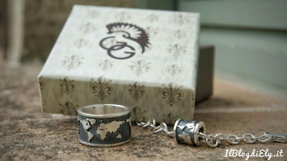 gioielli di viaggio anello e braccialetto