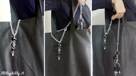 le colleghe creative portachiavi per borsa
