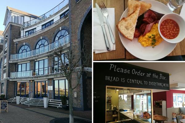 colazione a Londra al Bread Centrale