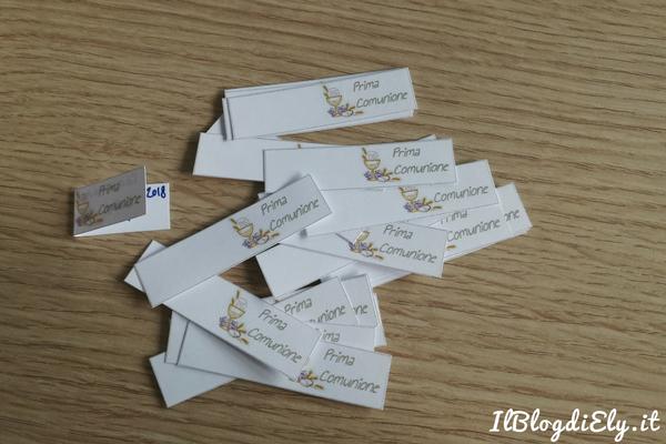 bigliettini per bomboniera comunione da scaricare e stampare