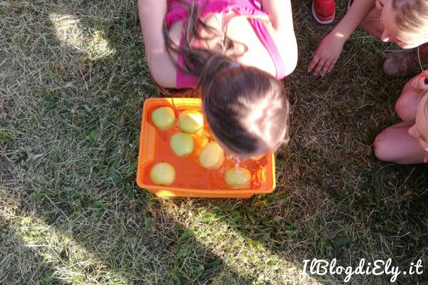 giochi per bambini con l'acqua