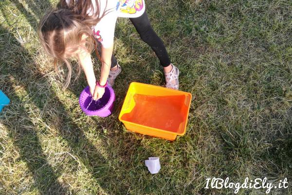 giochi per bambini per festa in giardino in estate
